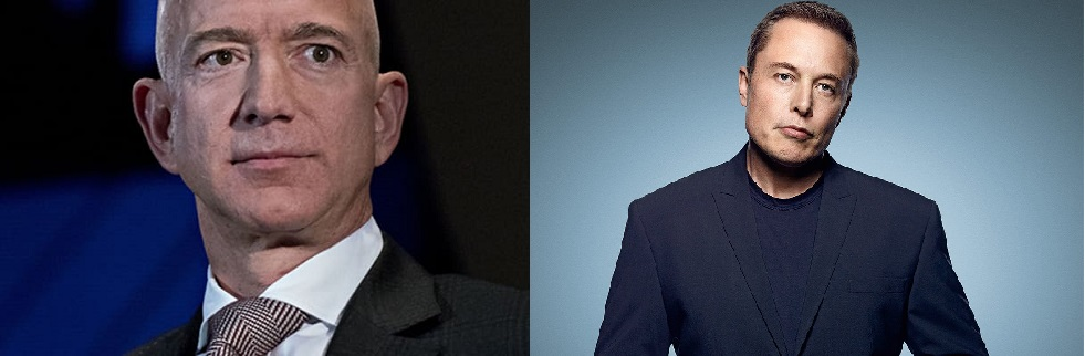 Bezos, Musk smash records